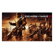 Gears of War. Размер: 105 х 60 см